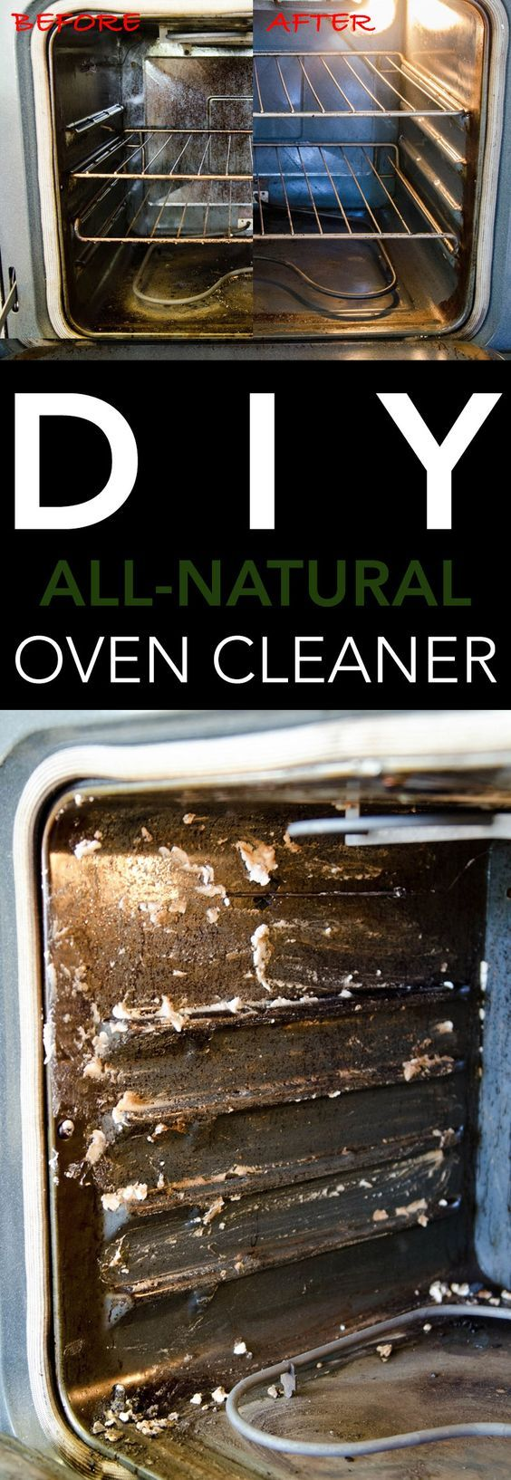 easy off oven cleaner how to use