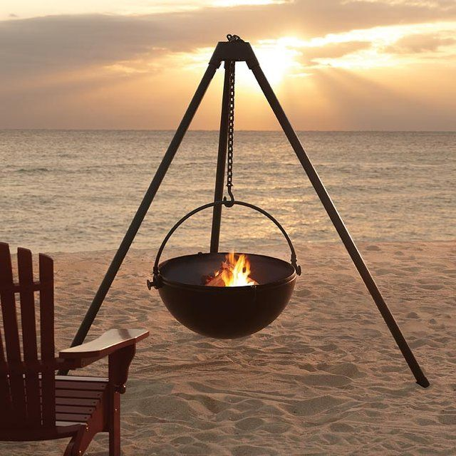 Fire Pit by Cowboy Cauldron Co.