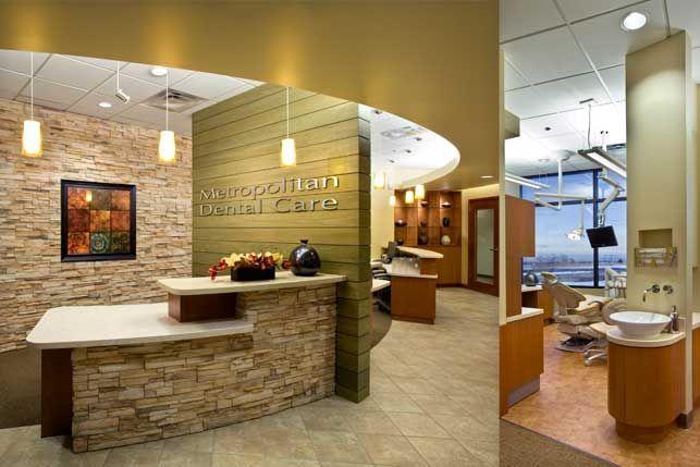 Dental buildings aspen park dental unbuilt keene dental for Dental office interior designs