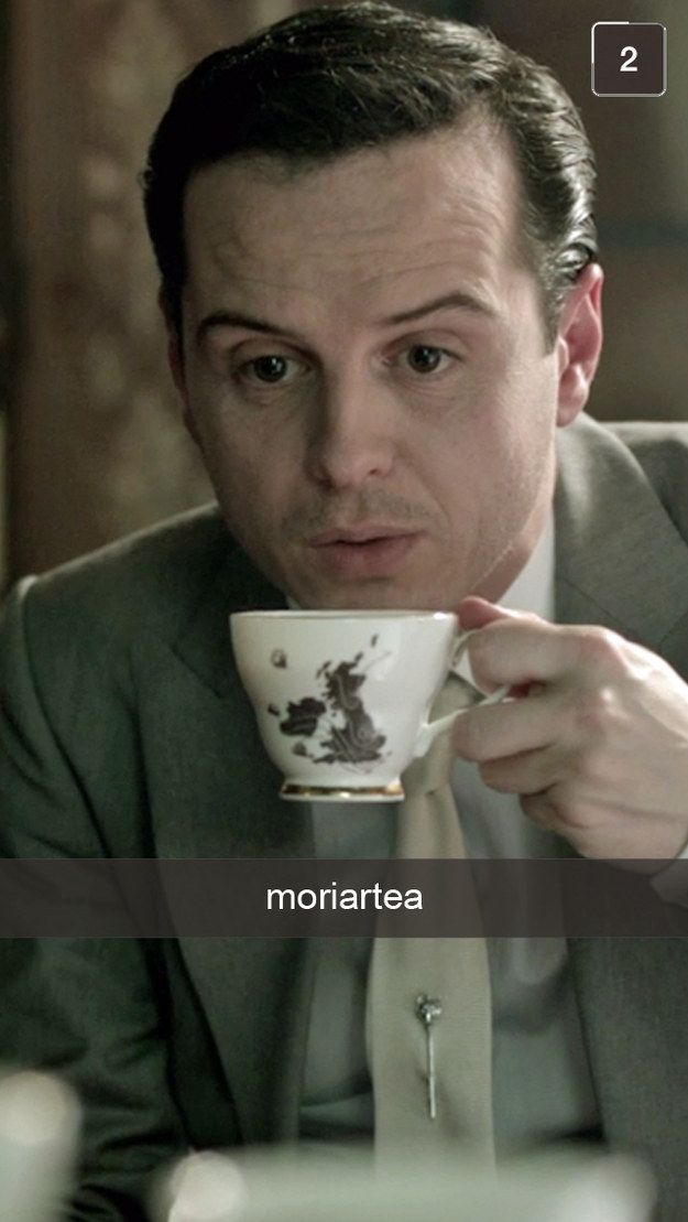21 Snapchats From Sherlock **Just FYI, this is why my friends get annoyed with me!