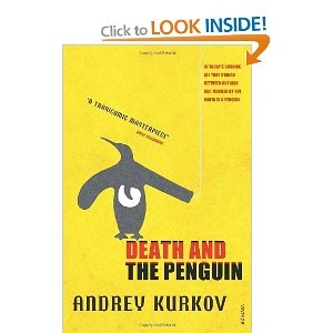 Read anything by Andrey Kurkov - great author!