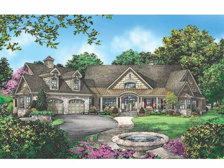36 best images about ranch style house plans on pinterest for French country ranch home designs