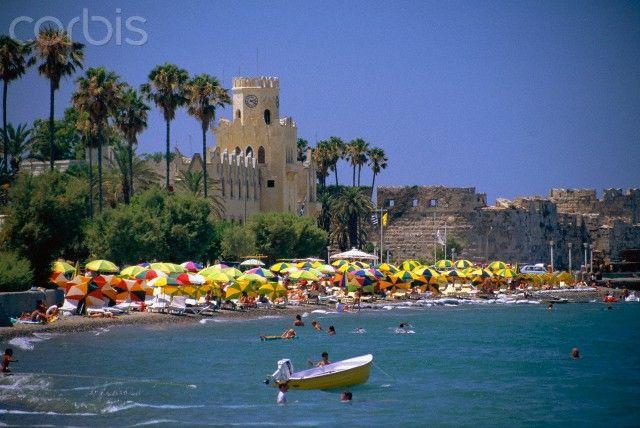 Greece, Kos, Town Beach