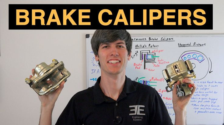 Performance Brake Calipers - 3 Ways To Improve Braking (Besides Red Paint) - YouTube