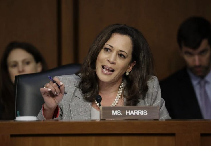 As a prosecutor, Kamala Harris's doggedness was praised. As a senator, she's deemed 'hysterical.'