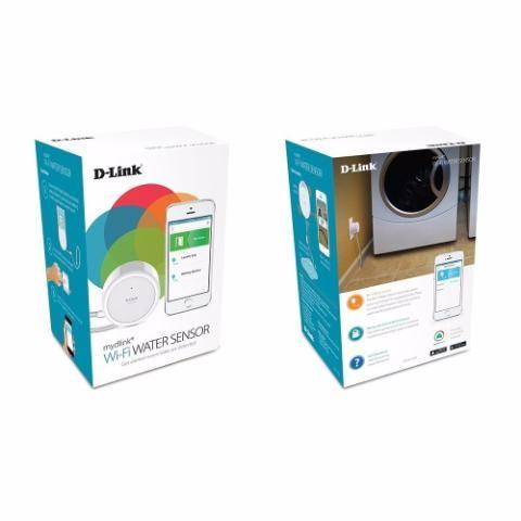 Wi-fi Water Sensor D-link Dch-s160, Detector De Agua Wi-fi