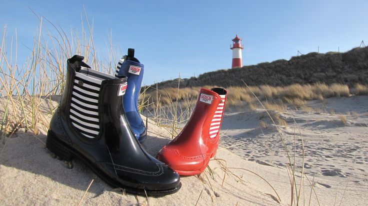 Gosch Shoes Sylt - Chelsea Stripes #gosch # sylt #gummistiefel #fs17