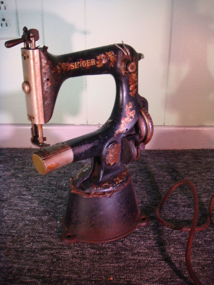 Antique Singer Sewing Machine Model 25-2 Cylinder Bed Chain Stitch - Very Rare in Antiques, Sewing (Pre-1930), Sewing Machines | eBay