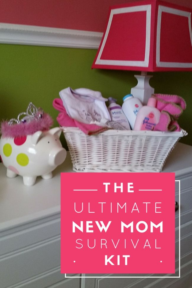 Overwhelm by your pregnancy to-do list? Whether this is your first pregnancy or you're on number four, this New-Mom Survival Kit is for you.