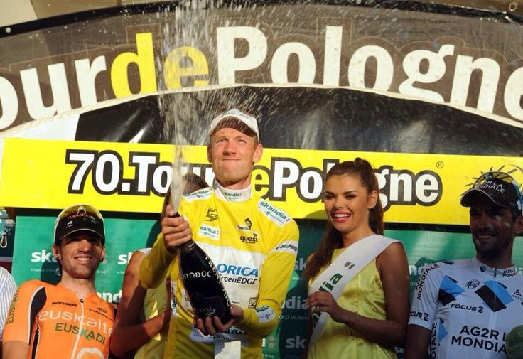 So looks like the winner after the victory in the Tour of Poland! Pieter Weening our topper UT Harkema! #TDP