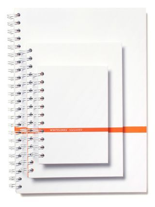 Whitelines notebooks. Very cool idea.