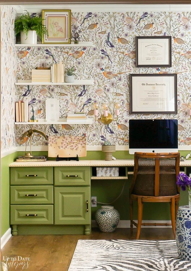 How To Decorate An Office With No Windows Up To Date Interiors Home Office Decor Office Window Guest Room Office