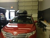 2009 Toyota Venza with Q system and Skybox 16 #hitchngear