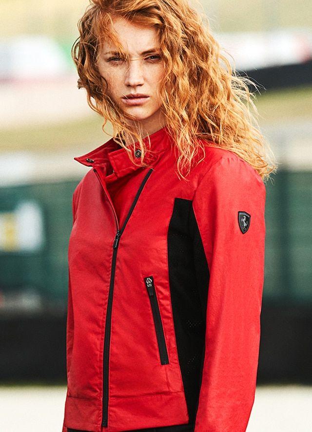 Scuderia Ferrari Collection Preview Ss19 Jacket Woman Ferrari Jacket Jackets For Women Women