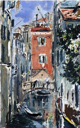 Filippo de Pisis - Canale a Venezia, 1931.