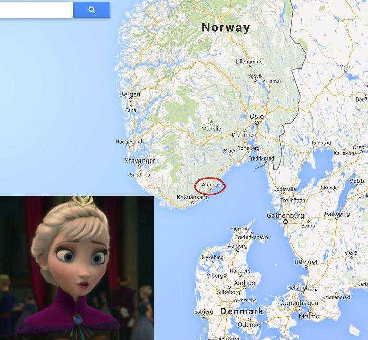 It's real! #Frozen