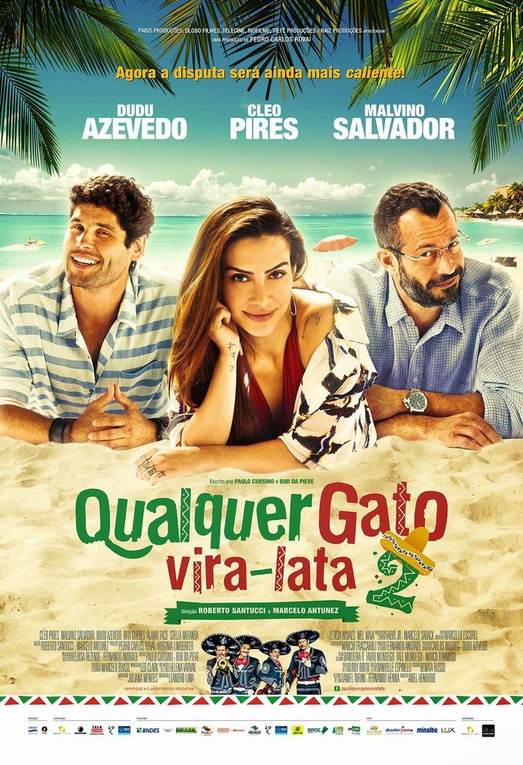 Qualquer Gato Vira-Lata 2 (2015) Stars: Cléo Pires, Malvino Salvador, Dudu Azevedo