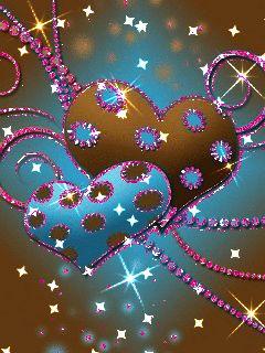 Картинки, картинки на телефон сердечки анимация красивые