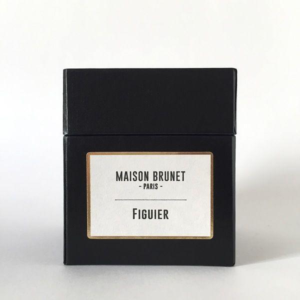 Bougie Figuier   - MAISON BRUNET -   #bougie #bougieparfumée #maisonbrunet #maisonbrunetparis
