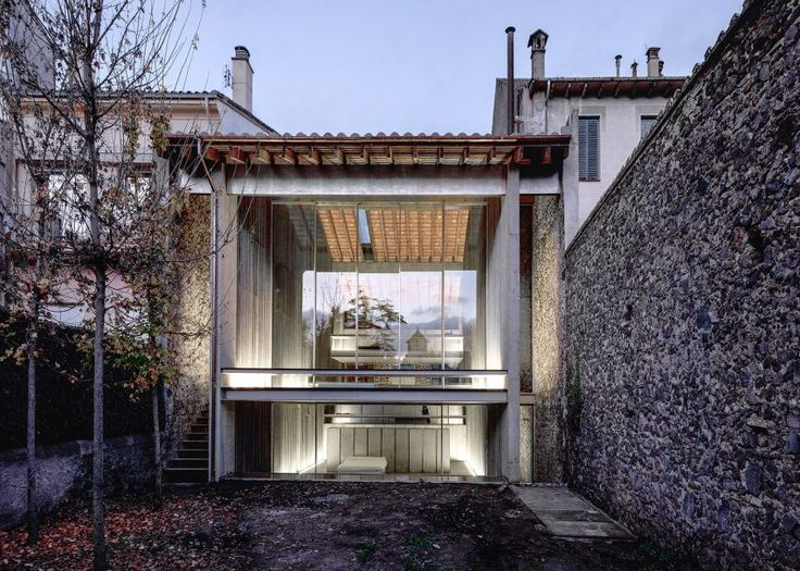 Key projects by Pritzker Prize 2017 winner RCR Arquitectes: Row House, 2012, Olot, Girona, Spain