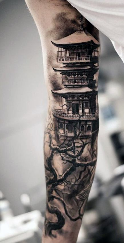 Best 25+ Cool forearm tattoos ideas on Pinterest | Forest tattoos ...