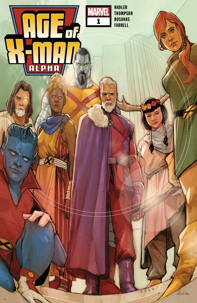 Age Of X Man Alpha 1 Review The Fanboy Seo Marvel Unlimited Marvel Comics Covers Comics