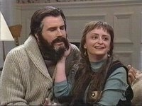 Perchance it's SNL's Will Ferell & Rachel Dratch as the Lovaahs.
