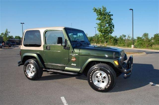 1997 Jeep Wrangler Sahara (Stock# 12-0115A)