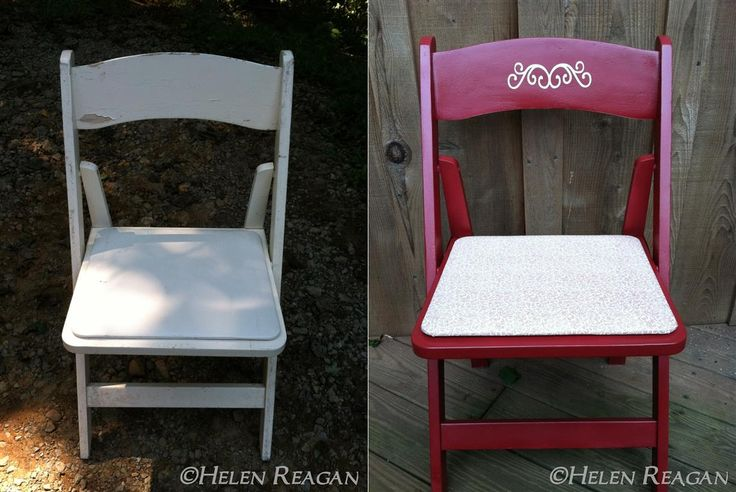 Wedding Chair Redo