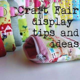 Craft Blog UK: Craft Fair Display Tips and Ideas.  You may need a few weeks to look through all these links