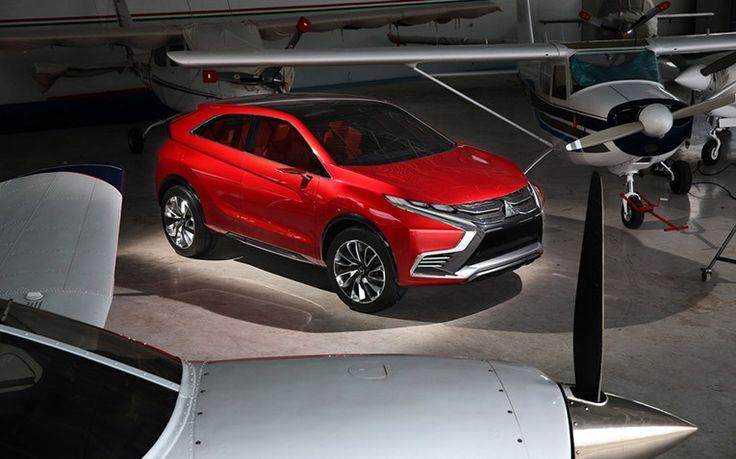 Mitsubishi SUV-Studie Concept XR-PHEV II - Plug-in-Hybrid  #mitsubishi #concept #hybrid #suv #phev #genf