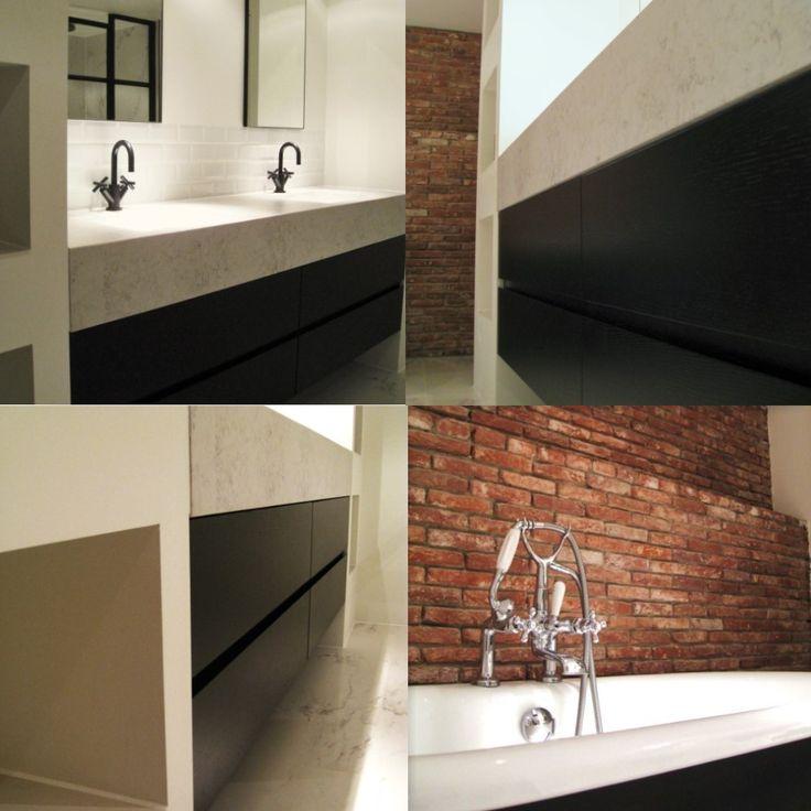 Bathroom furniture by Constilo Design. Project in Amsterdam