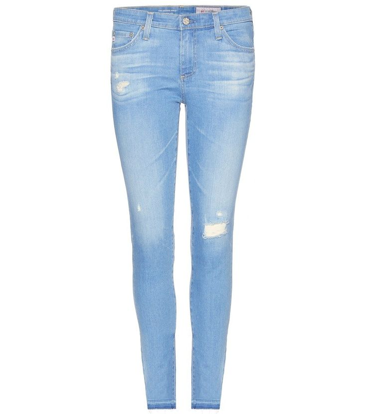 CROPPED SKINNY JEANS AG JEANS