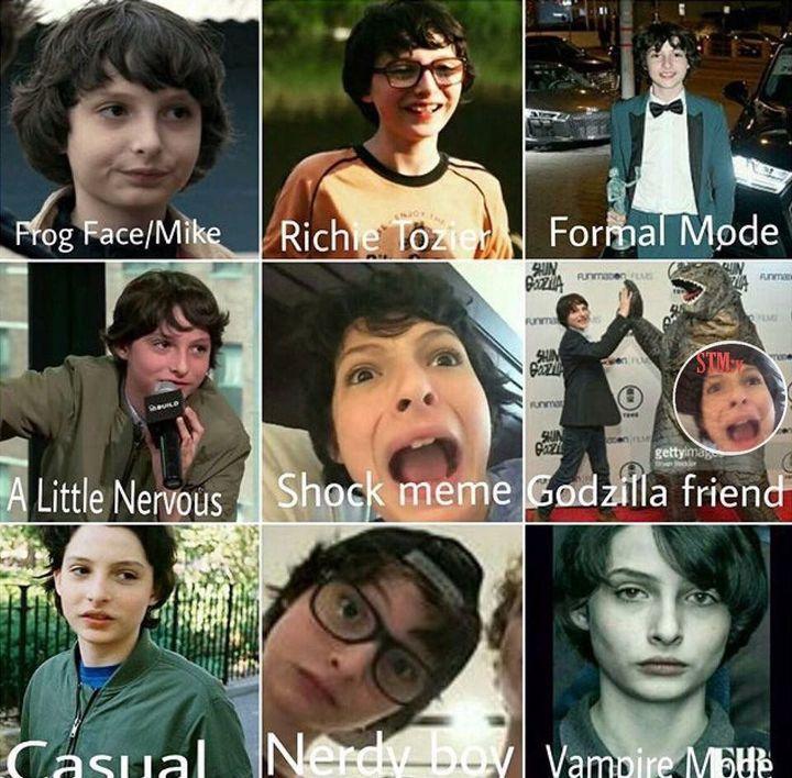 Se ve lindo siendo nerd y siendo Frog Face