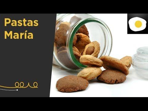 Pastas María (Receta) | Bocaditos de cielo