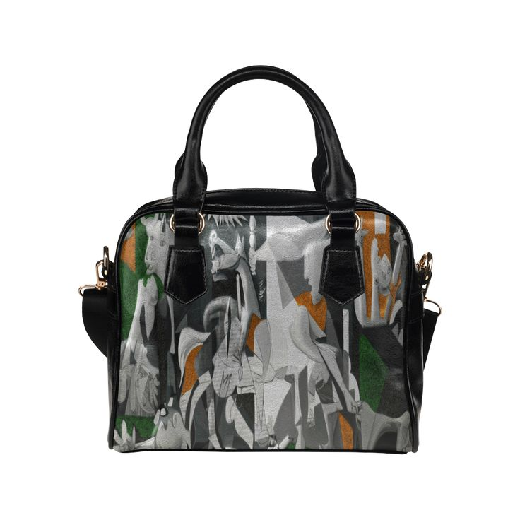 My Picasso Serie:Guernica Shoulder Handbag (Model 1634)