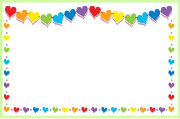 안내문사진틀,가정통신문틀,유치원,편지지,예쁜그림,예쁜도안 강서구반영구화장 : 네이버 블로그