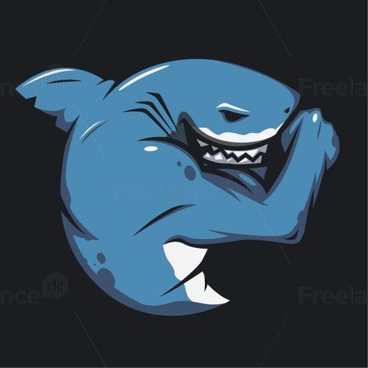 Shark. Gym. Tattoo. #shark #gym #tattoo #logo #fitness #freelancer #freelancediscount #freelancecreative