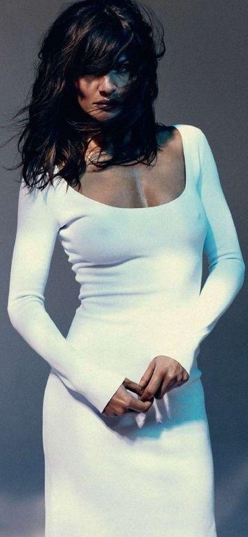 ... Little white Jersey Dress on Pretty Little Girl ...   HERMEL DELOR