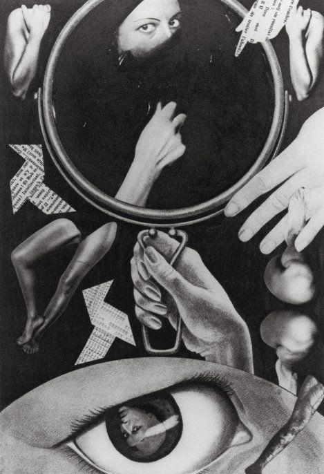 Claude Cahun et Moore, Aveux non avenus, planche III, 1929-1930. Collection particulière, Paris