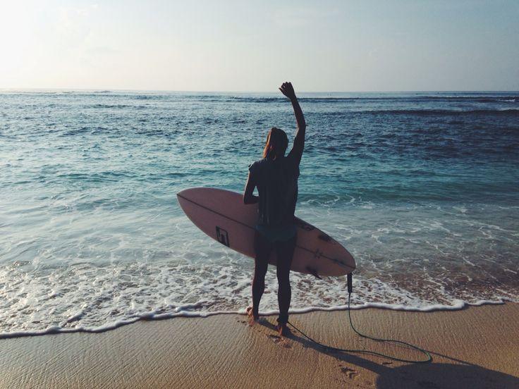 Surfer Girl, Green Bowl Beach, Bali