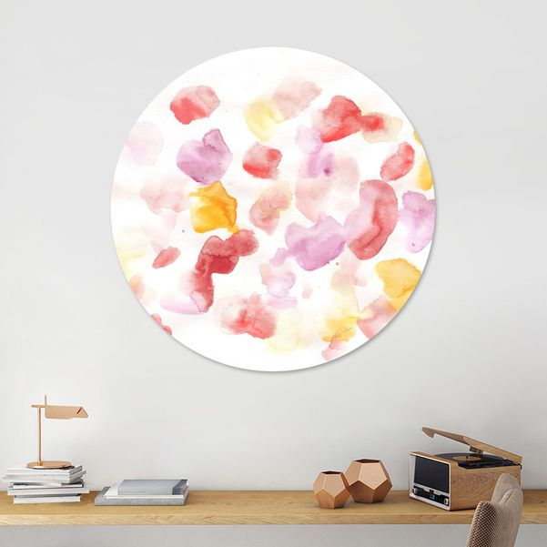 Discover «170725 Abstract Watercolour 12», Limited Edition Disk Print by valourine - From $99 - Curioos