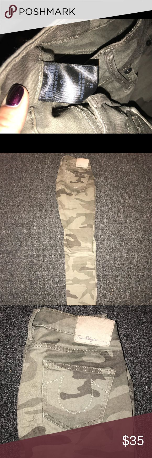 True Religion Camo skinny jeans True Religion Camo skinny jeans True Religion Pants Skinny