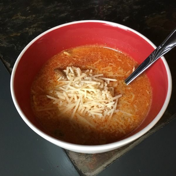 chorizo chicken soup - Perfect for the Keto Diet