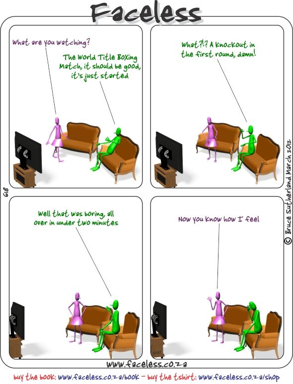 Faceless Comics: What are you watching?