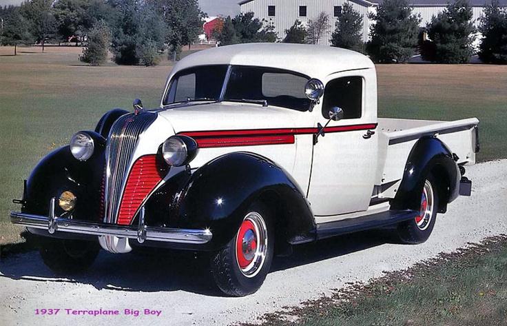 1937 Hudson Terraplane Pickup Trucks Pinterest