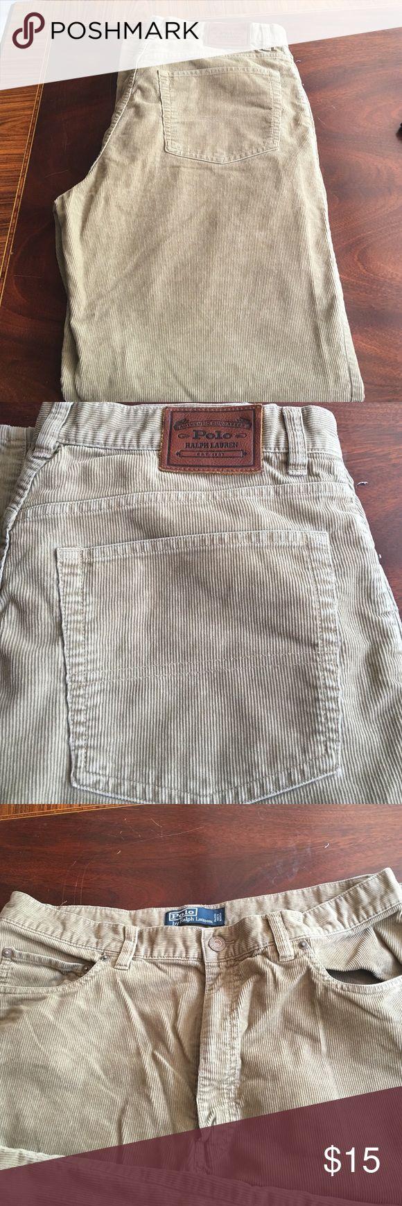 Polo Ralph Lauren men's corduroy pants Polo Ralph Lauren men's 5 pocket corduroy pants. Ralph Lauren Pants Corduroy