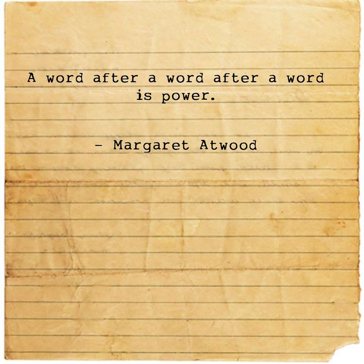 power of words essay