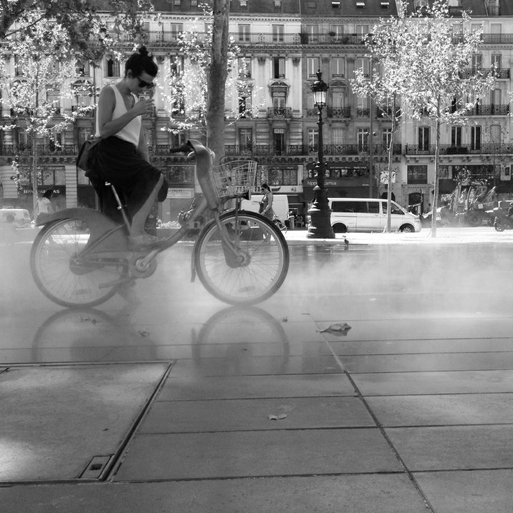 The best thing about street photography is that it is possible for the final viewer to see more than the original photographer. See how Nathalie Geffroy ( Nathparis ) has captured her town!