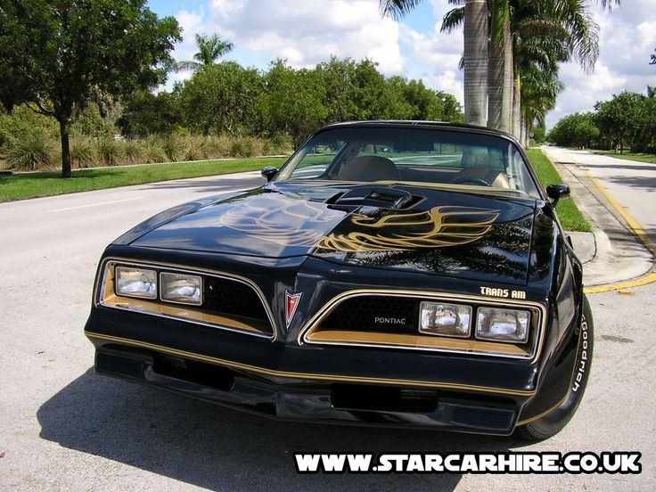 Wasn't a Trans Am unless it had the eagle!